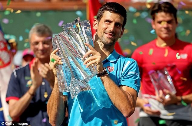 Djokovic lần thứ 5 chiến thắng tại BNP Paribas mở rộng