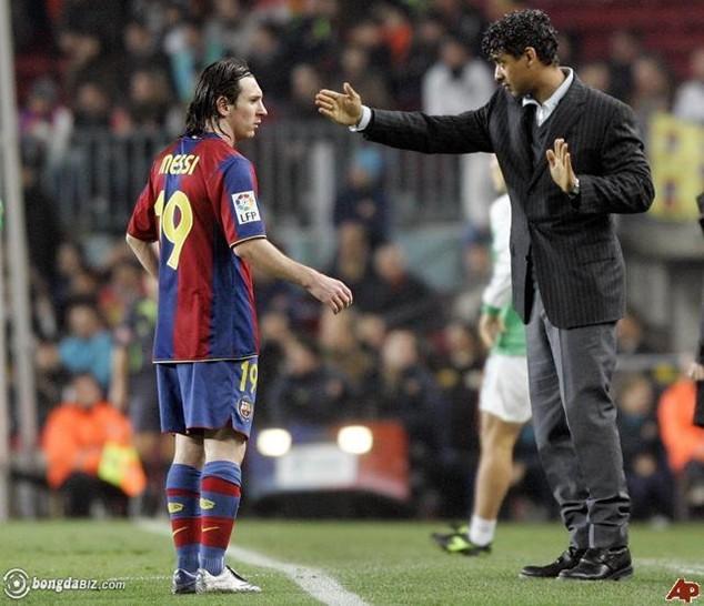 Rijkaard là người ảnh hưởng lớn nhất tới sự nghiệp vĩ đại của Messi