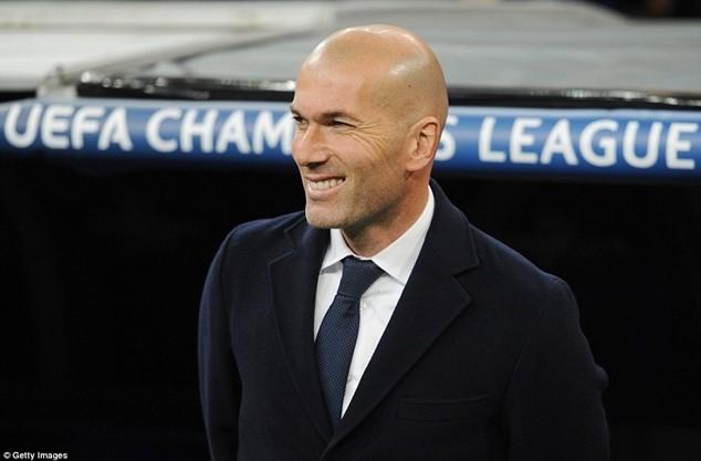 """Zidane kêu gọi các học trò phát huy yếu tố """"cơ bắp"""" ở trận đấu với Barcelona"""