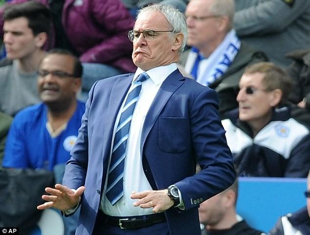 Ranieri nhận được vỏn vẹn 1,5 triệu bảng mỗi mùa tại Leicester