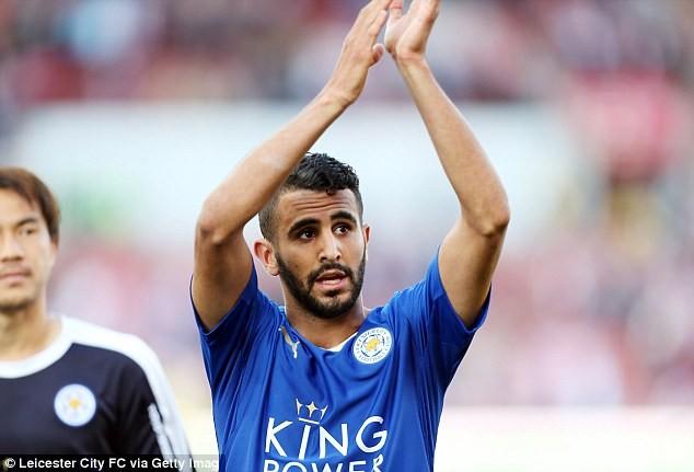 Mahrez bị treo bằng 6 tháng vì lái xe quá tốc độ