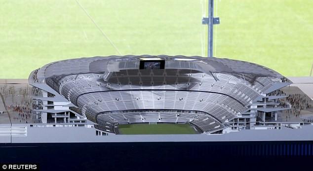 Choáng ngợp với siêu dự án nâng cấp sân Nou Camp của Barcelona ảnh 4