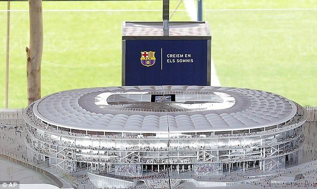 Choáng ngợp với siêu dự án nâng cấp sân Nou Camp của Barcelona ảnh 3