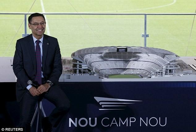 Choáng ngợp với siêu dự án nâng cấp sân Nou Camp của Barcelona ảnh 2