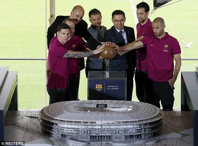 Choáng ngợp với siêu dự án nâng cấp sân Nou Camp của Barcelona ảnh 6