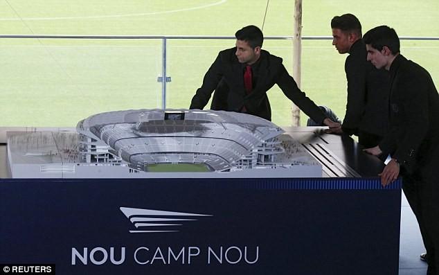 Choáng ngợp với siêu dự án nâng cấp sân Nou Camp của Barcelona ảnh 5