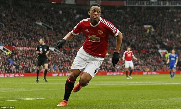 Martial ghi bàn thắng mở tỷ số sớm cho M.U
