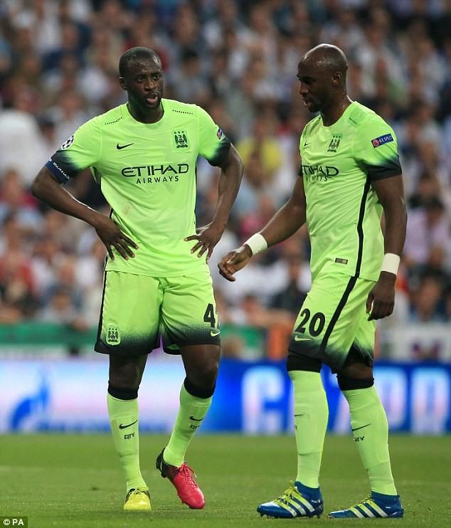 Yaya Toure (bìa trái) sẽ là một trong những ngôi sao hàng đầu rời Man City