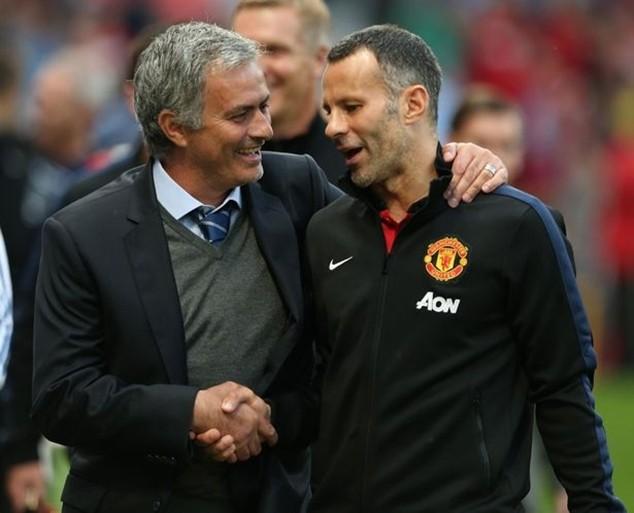 Giggs sẽ rời Old Trafford nếu M.U bổ nhiệm Mourinho vào băng ghế huấn luyện