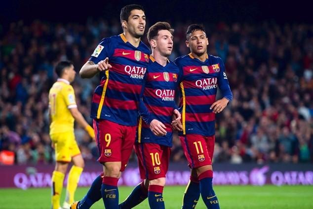 Messi thu nhập ít hơn 3 triệu bảng so với Ronaldo