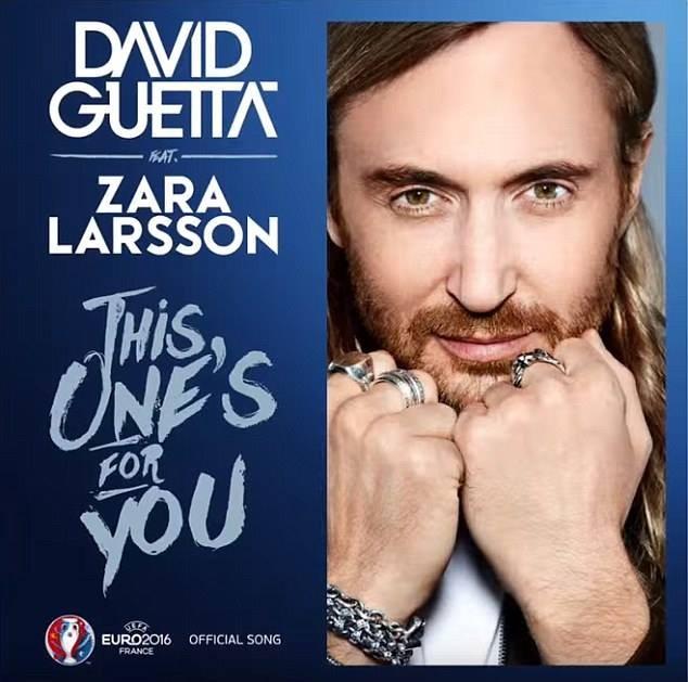Guetta công bố bài hát chính thức của EURO 2016