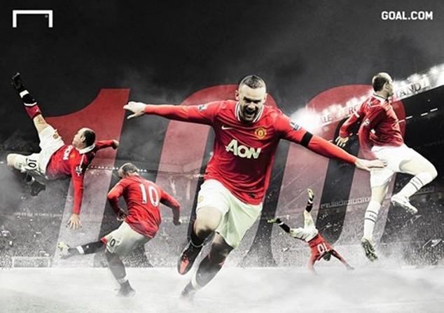 Rooney đạt cột mốc ghi 100 bàn tại Old Trafford cho M.U