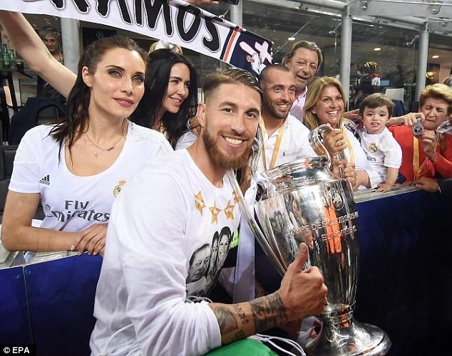 Pilar Rubio, hậu phương vững chắc của hậu vệ người Tây Ban Nha, Sergio Ramos