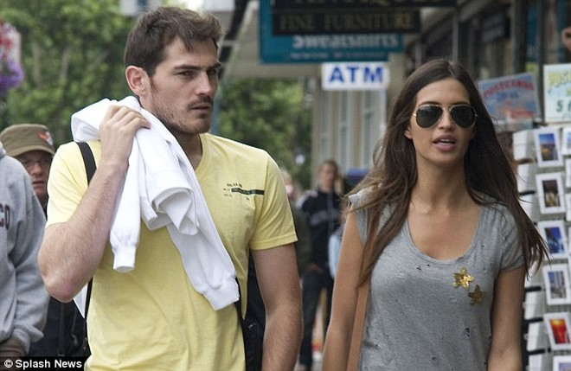 Sara Carbonero, một nửa nổi tiếng của thủ môn Iker Casillas