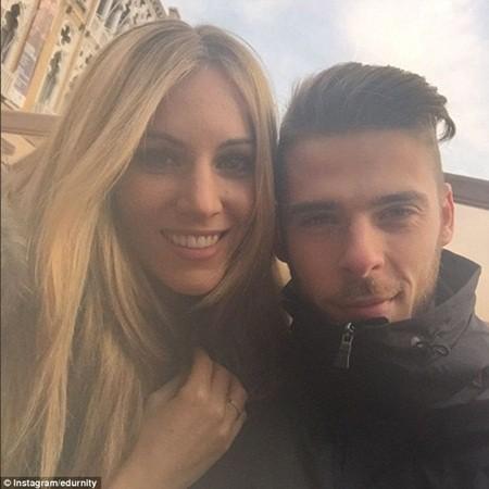 Edurne Garcia, bạn gái của thủ môn người Tây Ban Nha, David de Gea