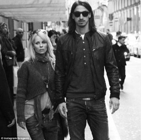Helena Seger, vợ của tiền đạo người Thụy Điển, Zlatan Ibrahimovic