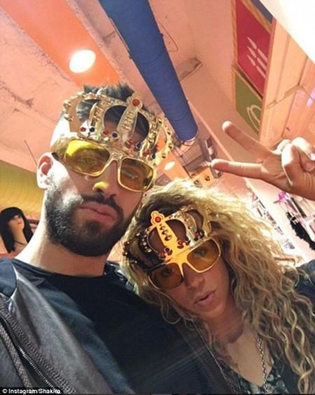 Cặp đôi nổi tiếng Shakira và Gerard Pique