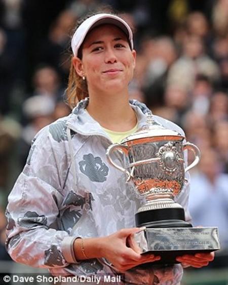 Muguruza lần đầu tiên vô địch tại một giải Grand Slam