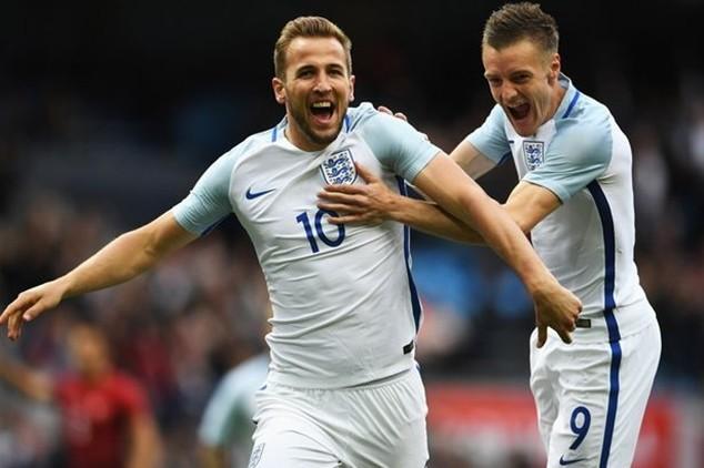 Đội tuyển Anh dẫn đầu về khả năng ghi bàn tại EURO 2016