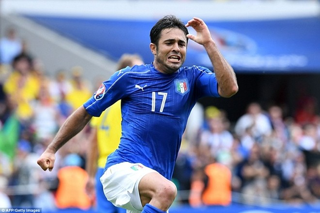 Eder Martins ghi bàn thắng duy nhất giúp Italia đánh bại Thụy Điển 1-0
