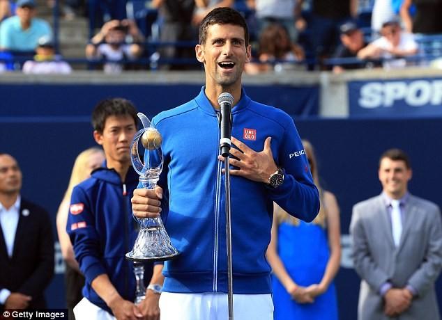 Djokovic đã có 30 chức vô địch thuộc hệ thống ATP Masters 1000