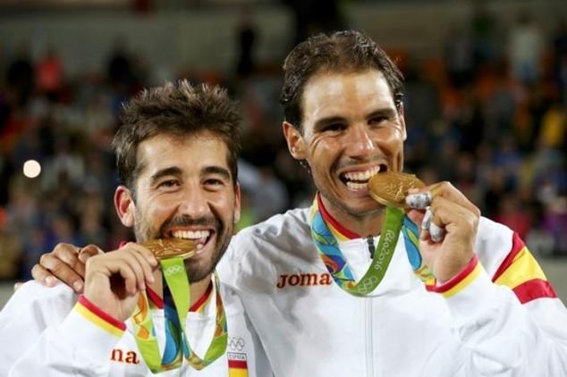 Nadal và Lopez giúp Tây Ban Nha có thêm một HCV ở Rio 2016
