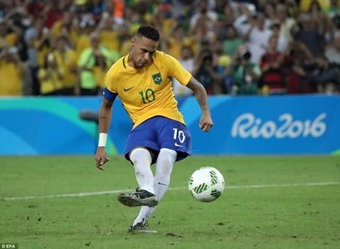 Neymar với tình huống sút luân lưu 11m quyết định