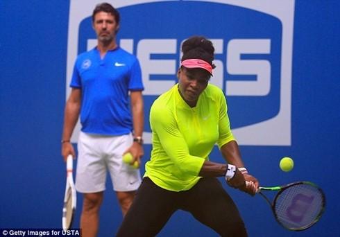 Serena phải trải qua chặng đường nhiều thách thức tại Mỹ mở rộng 2016