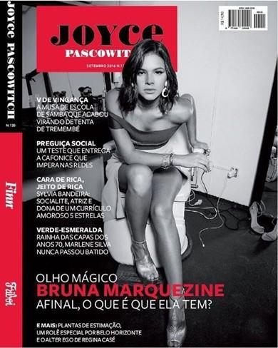 Hình ảnh người yêu cũ của Neymar trên trang bìa tạp chí Joyce