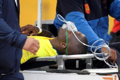 Valencia được đưa thẳng tới bệnh viện