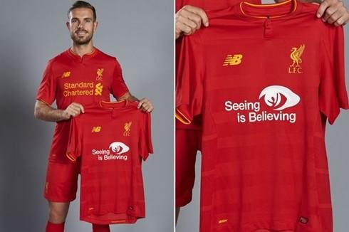 """Liverpool sẽ thi đấu với khẩu hiệu """"Seeing is Believing"""""""