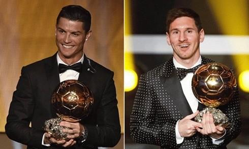 Ronaldo và Messi là những ứng viên hàng đầu cho Quả bóng vàng châu Âu 2016