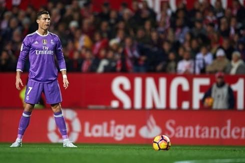 Ronaldo chỉ đứng ở vị trí thứ 7