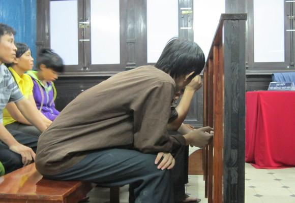 Bị cáo Nguyễn Hữu Hưng tại tòa phúc thẩm