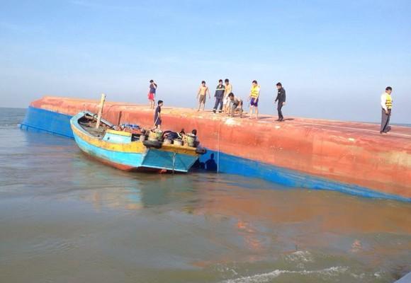 Hiện trường nơi xảy ra vụ chìm tàu