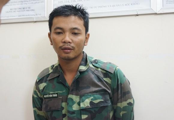 Thuyền viên Trần Minh Sang- người may mắn thoát nạn
