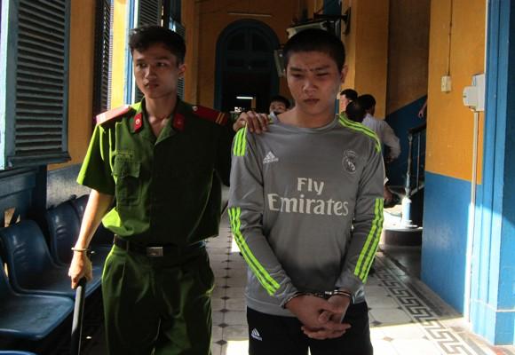 Bị cáo Nguyễn Huỳnh Sơn