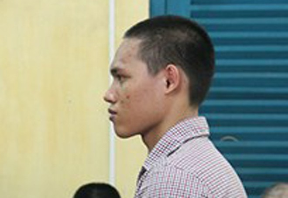 Bị cáo Nguyễn Văn Phương Vũ tại tòa phúc thẩm