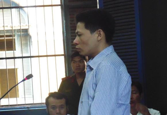 Bị cáo Lê Minh Duy tại tòa