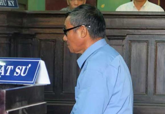 Ông Nguyễn Văn Đồng tại tòa phúc thẩm