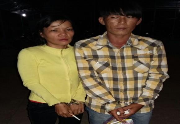 Hai đối tượng Son và Hởi bị bắt giữ