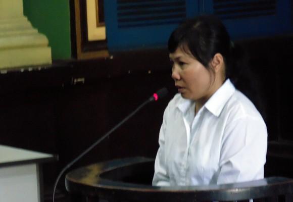 Bị cáo Nguyễn Thị Bích Thuận