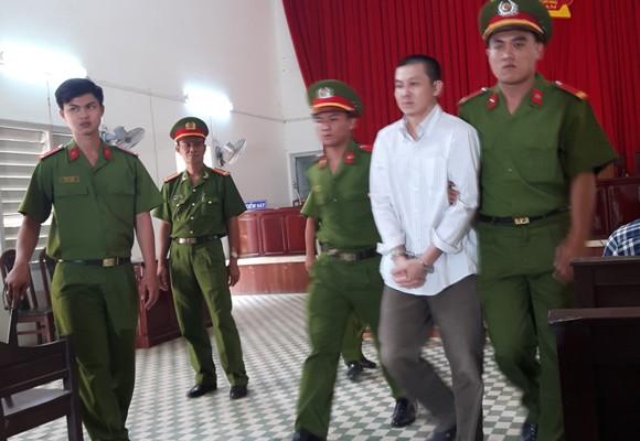 Bị cáo Võ Văn Thương sau phiên xét xử