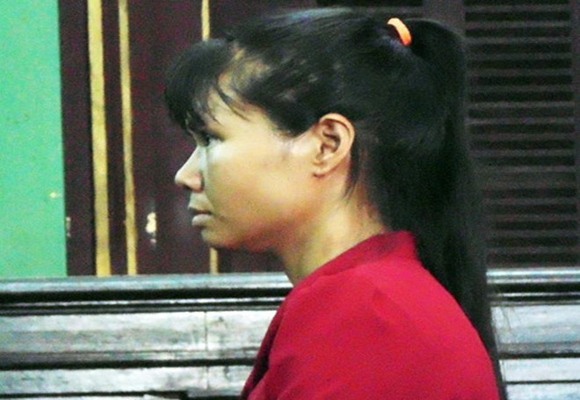 Bị cáo Lại Thị Tuyết Mai