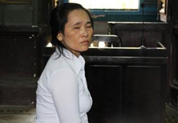 Bị cáo Vũ Thị Ánh Hồng