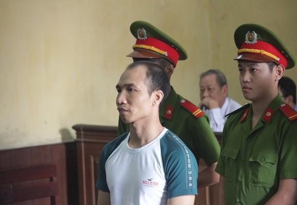 Bị cáo Trần Quang Tuyến tại tòa