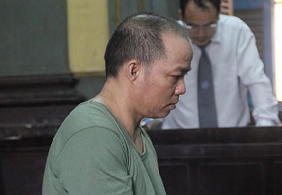 Bị cáo Trần Văn Tiền tại tòa phúc thẩm