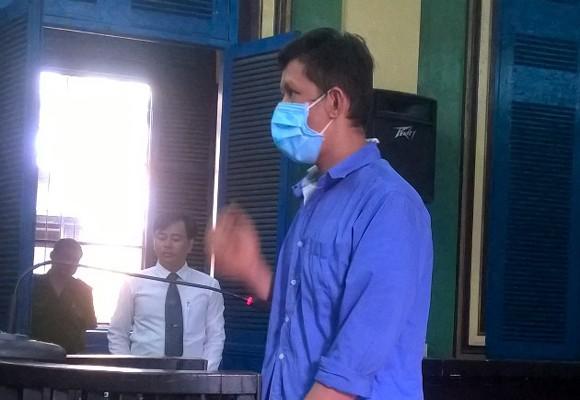 Bị cáo Lê Thanh Hùng