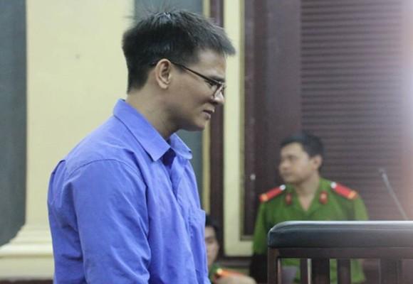 Bị cáo Nguyễn Đăng Thành tại tòa