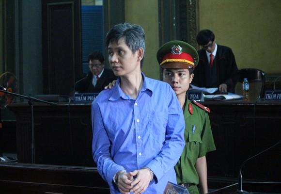 Bị cáo Đặng Công Minh tại tòa